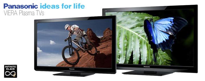 Panasonic Plasmas, Flat Screen LED TVs & LCD TVs