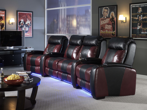 Home Theater Design Hollywood Theme