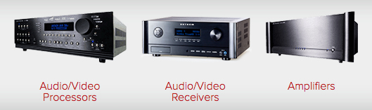 Anthem Receivers Amplifers Processors