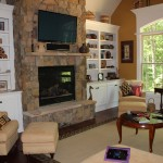 Parade of Homes - Living Room Plasma and Surround Speakers