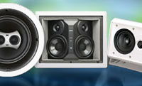 Whole House Audio Video Music In wall speakers