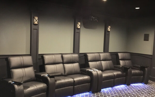 Green Theater Black Palliser Seating