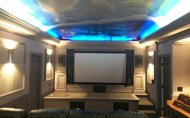 Painted-ceiling-theater-front