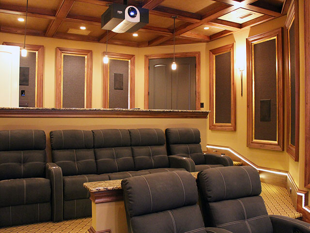 Dedicated theater seating