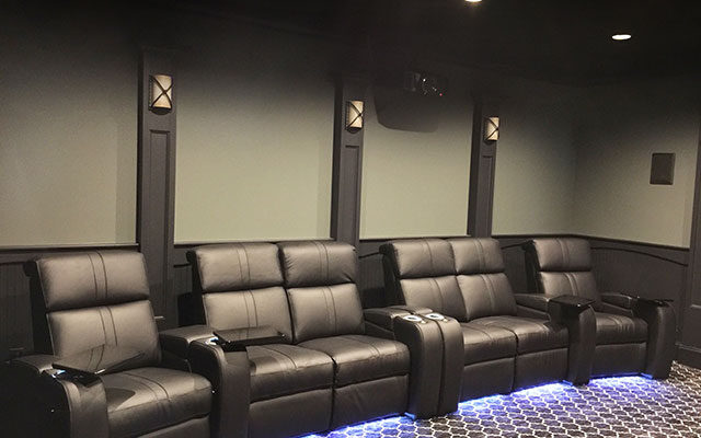 Home Theater Seating wthLED