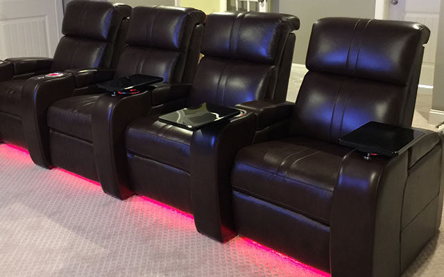 Theater Seating with LED Package
