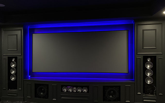 LED home theater design